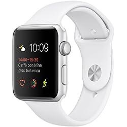 Apple Watch Series 2 42mm Caja Aluminio Correa Deportiva Blanca