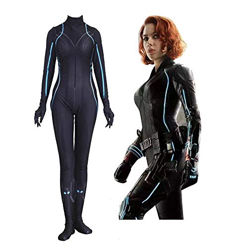 Black Avengers Widow Kostüm Kind - Cosplay Kleidung Marvel Avengers Black Widow Cosplay Lycra Siamesische Strumpfhose 3D Digitaldruck Enge Weihnachten Halloween Kostüm Für Erwachsene Tragen XXXL