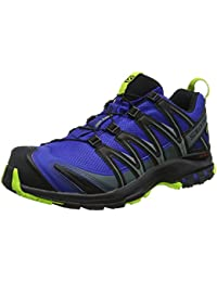 Salomon Herren XA PRO 3D Trailrunning-Schuhe, blau (mathyl blue / grey / black)