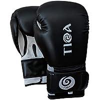 TIOA Boxing Gloves Black or Red,- 14oz,12oz,10oz, 8oz