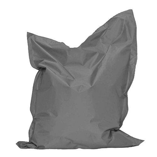 Sitzkissen 145x100 Bag Anthrazit Sitzsack Bodenkissen Kissen Sack In-und Outdoor
