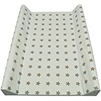 Asmi - 2 de la cuña de accesorios para cambio de pañal de la estera diseño de estrellas multicolor de
