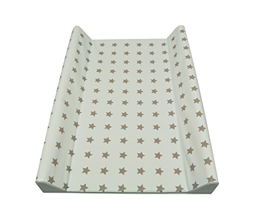 Asmi 2 Wedge Baby Changing Mat 50x70 Cm Stars 50 X 70 Taupe