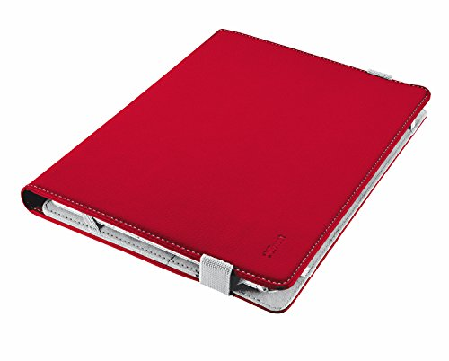 "tablet mediacom windows Trust Verso Universal Folio Stand per 7-8"" tablets - rosso"