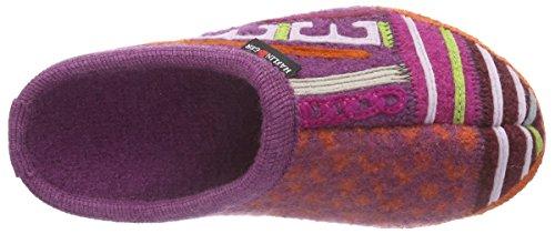 Haflinger - Phantasy, Pantofole Unisex – Adulto Multicolore (Mehrfarbig (43 rost))