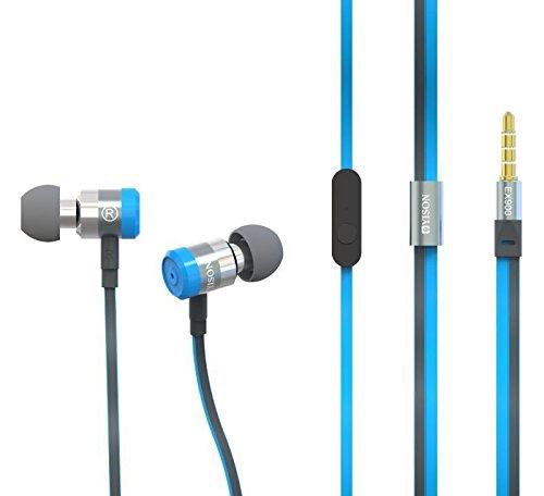 Yison LG Stylo 2/LG L5000 Metal Series EX900 Super Bass Blau in Ear Kopfhörer Kopfhörer mit Mikrofon & Lautstärkeregelung Geeignet für -
