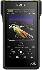 Sony NW-WM1A High-Resolution Audio Walkman (128 GB Memory, S Master HX Engine, Aluminium Case, 4 inch LED LCD Multi-Touch Display) - Black