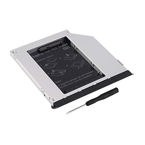 Banbie8409 Zweiter SATA-Festplattenmodul-Caddy für DELL E6320 E6420 E6520 E4300 E4310 -