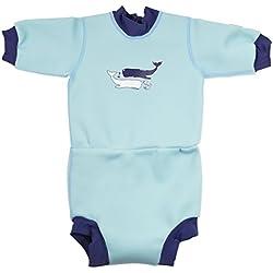 Splash About - Combinaison de plongée - Mixte enfant - Vintage Moby - FR : M (Taille Fabricant : 3-8 mois)