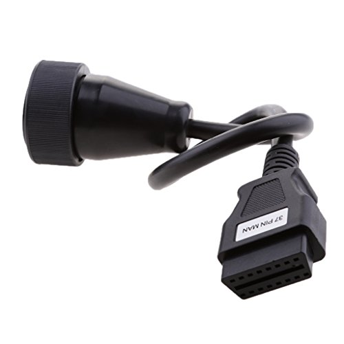 Preisvergleich Produktbild MagiDeal 37-polig auf 16-polig OBD2 Steckverbinder Adapterkabel für Delphi DS150 Autocom VCI Diagnosewerkzeug Länge: Ca. 40cm