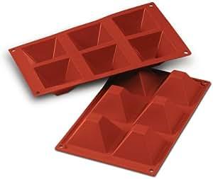 6 Piramidi stampi in silicone