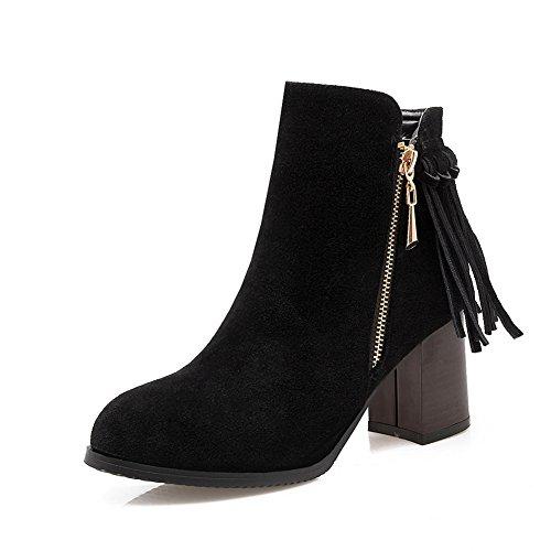 BalaMasa - Pantofole a Stivaletto donna Black