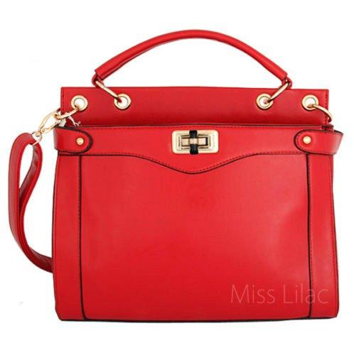Miss Lilac, Borsa a secchiello donna Rosso (rosso)