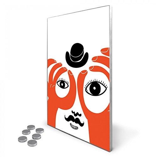edelstahl-magnettafel-35x50-cm-inkl-6-magneten-design-magnetwand-fr-kche-und-bro-banjado-memoboard-b