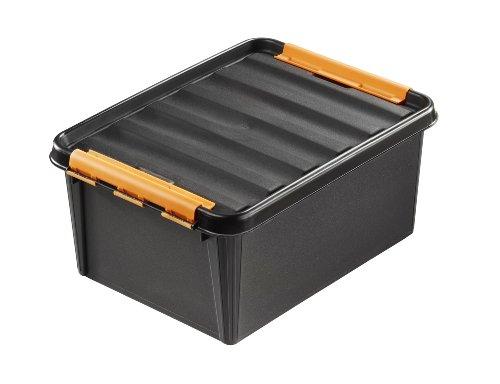 Orthex 31910903 3-er-Set Clipbox Smart Store Robust, 15 Liter Volumen, 40 x 30 x 19 cm