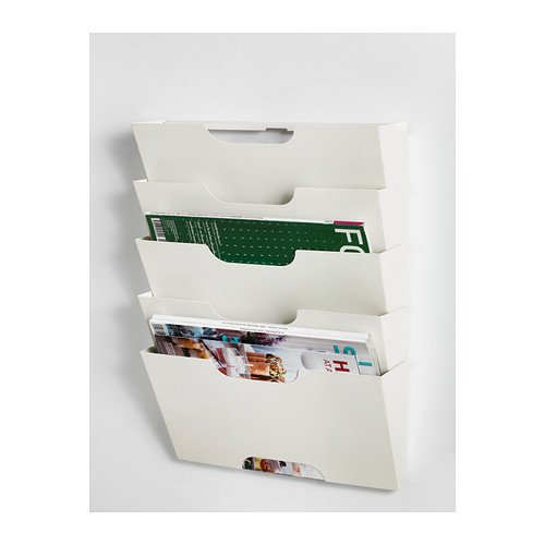 Wall Mounted 5 - Tier Newspaper ...