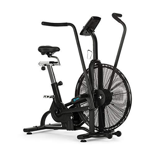 Capital Sports Strike Bike • Heimtrainer • Cardiotrainer • Ventilationswiderstand • integrierter Trainingscomputer • Bluetooth • höhen- und tiefenverstellbar • Tablet-Halter • max.150 kg • schwarz