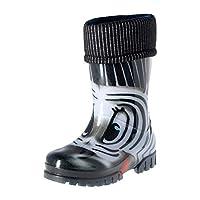 KREXUS Rio I Kids' Classic Wellington Rain Boots Zebra Size 34/35 XK00902_34