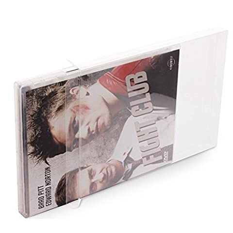 10 Klarsicht Schutzhüllen DVD [10 x 0,3MM DVD] Spiele Filme Originalverpackungen Passgenau