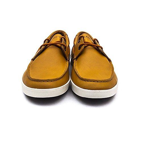 Lacoste Keellson 3 Dark Brown 29SRM2113 176 Sneaker Herren Tan