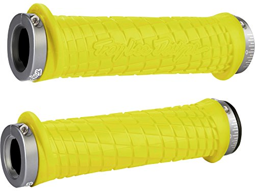 ODI Griffe MTB Bonus Pack Troy Lee Designs Grip, Gelb-Grau, 130 mm, D30TLY-G -