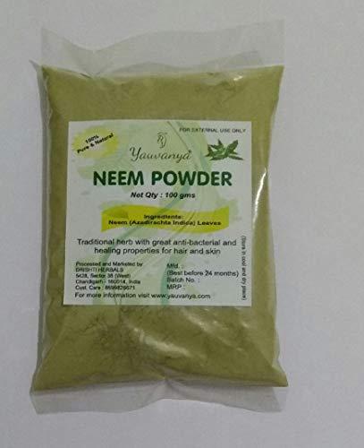 yauvanya neem (azadirachta indica) polvere - 100 g