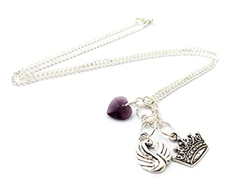 Collier Couronne Cygne - Once Upon A
