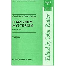 [(O Magnum Mysterium: Vocal Score)] [Author: Tomas Luis De Victoria] published on (November, 2007)