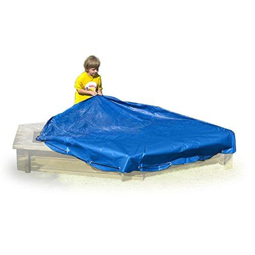 Preisvergleich Produktbild Sandkastenplane Plane für Sandkasten sechseckig Ø 230 cm von Gartenpirat®
