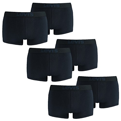 LEVIS Herren Trunk Boxershort 200SF - 3x2 paar Shorts (6er Pack) 827 - light denim