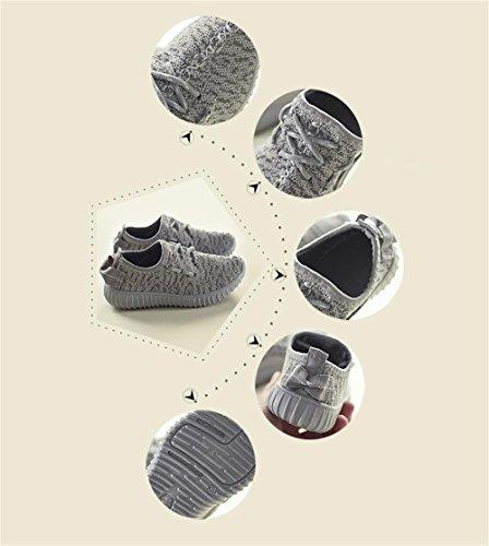 ALUK- Chaussures De Printemps Et D'Automne Chaussures De Sport ( couleur : Gray , taille : 36 ) Gray