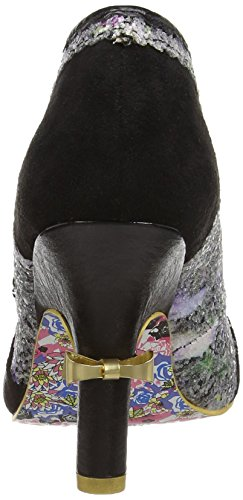Irregular Choice Washington Damen Pumps Black (Black Floral E)