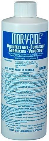 Marvy Mar V Cide Germicide Disinfectant 16 oz. (Pack of 2) by Marvy