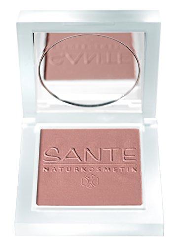 SANTE Naturkosmetik Rouge No. 02 silky mallow, Blush, Natürliche Mineralpigmente, Sanfte Textur, Natural Make-up, Bio-Extrakte, 7g