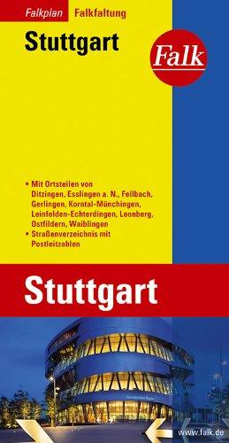 Falkplan Falk-Faltung Stuttgart