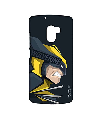Macmerise Licensed Marvel Comics Wolverine Premium Printed Back cover Case for Lenovo K4 Note