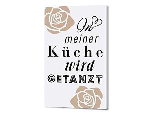 In meiner Küche wird getanzt | Spruch-Wandtattoo.de
