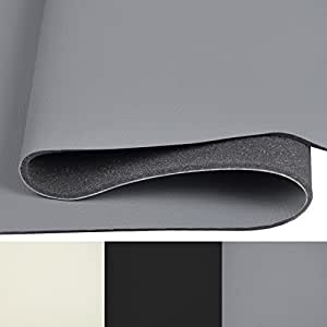 kunstleder kaschiert autopolster pkw grau t131 09 k che haushalt. Black Bedroom Furniture Sets. Home Design Ideas