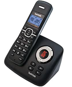 TalkTalk TT2020 DECT Cordless Phone with Answer Machine - Black