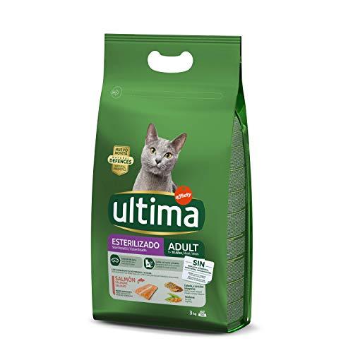 Ultima Pienso para Gatos Esterilizados Adulto con Salmón - 3 kg