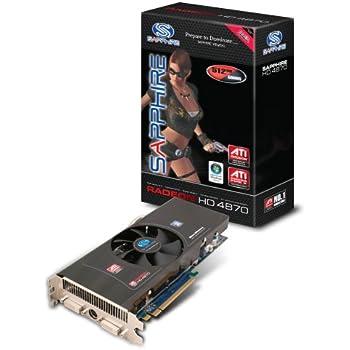 Sapphire ATI Radeon HD4870 Grafikkarte (PCIe, 512MB GDDR5 Speicher, 2xDVI, 1 GPU)
