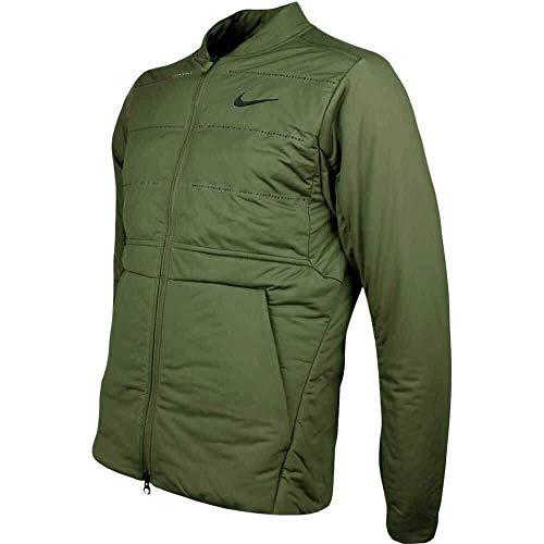 Nike Aeroloft Hyperadapt Golf Jacke - Olive Canvas/Black -