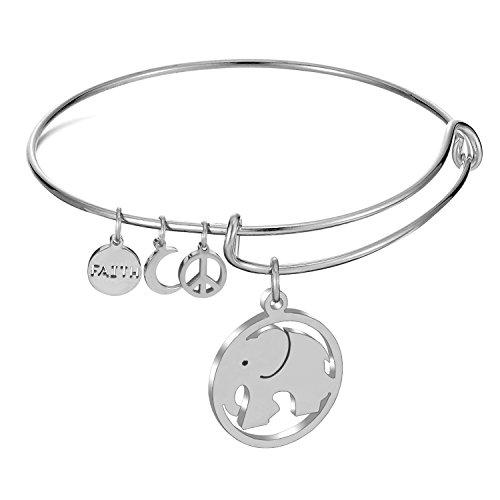 luxusteelr-uscita-nuovo-in-acciaio-inox-a-forma-di-elefante-portafortuna-braccialetto-bangle-da-donn