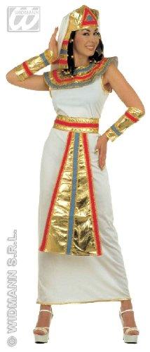 Von Nile Damen Erwachsene Königin De Kostüme (KOSTÜM - CLEOPATRA - Größe 34/36)