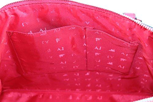 Armani Jeans, Borsa a mano donna rosso rot B 26 x H 34 x T 11 geranio