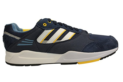 adidas Tech Super, Baskets mode mixte adulte collegiate navy / core white / bold gold