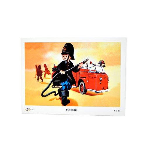 fantastik-poster-mexicano-vintage-profesiones-mini-bombero-dimensiones-18-x-24-cm