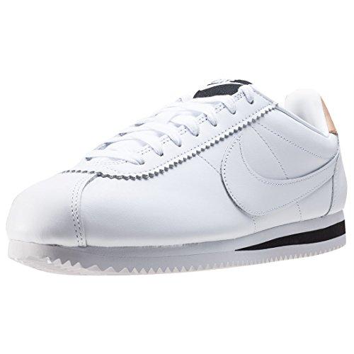 Nike Classic Cortez Leather Se, Chaussures De Fitness Unisexe - Blanc Adulte (blanc)