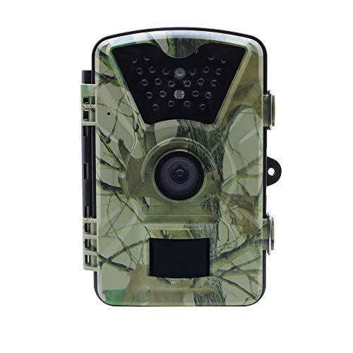WYYHAA Trail Caméra/Jeu 12MP HD 1080P avec 90 ° Grand Angle 65ft Plage de détection 26 Pcs 840nm LED IR Nuit Version pour la Surveillance de la Faune