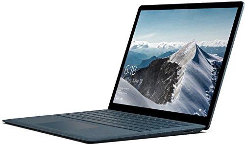 Microsoft Surface Laptop Ordinateur Portable 13.5' Tactile (Core i5, RAM 8 Go, SSD 256 Go, Windows 10S) -Bleu Cobal